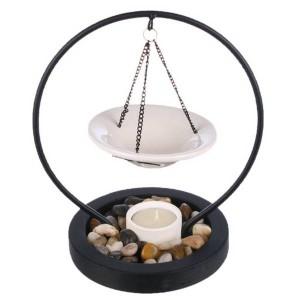 Аромалампа с камнями