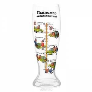 Бокал пьяномер Настоящего автолюбителя 1.5 л