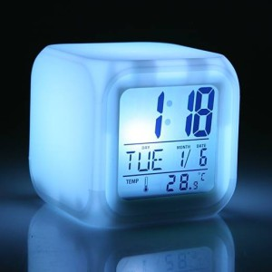 """Будильник часы """"Светящийся куб"""""""