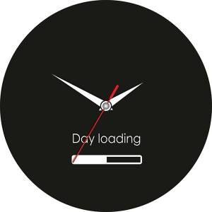 Часы Day loading загрузка