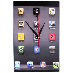 "Часы ""iPhone"" Стеклянные"