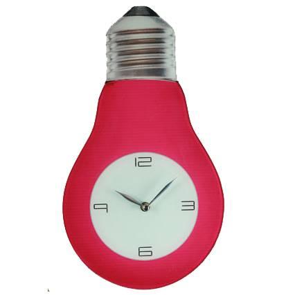 Часы лампочка