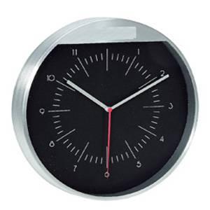 Часы настенные металлические с кварцевым механизмом