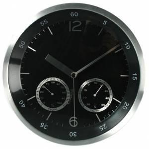 Часы с термометром и гидрометром