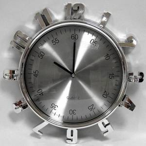 Часы серебро арабские цифры