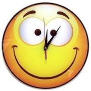 Часы смайл №2 стеклянные