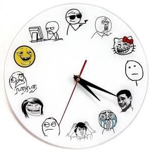 Часы Троль Фейс