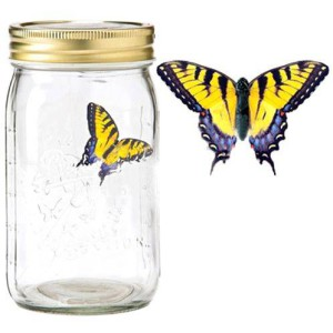 Электронная бабочка в банке Желтый Махаон