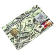 Флешка кредитка 8 Гб доллары