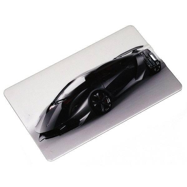 """Флешка кредитка 8gb """"Lamborghini"""" черная"""