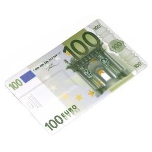 Флешка USB кредитка 8Gb 100 евро