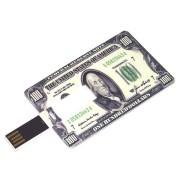 Флешка USB кредитка Platinum Credit Card 8Gb 100 долларов