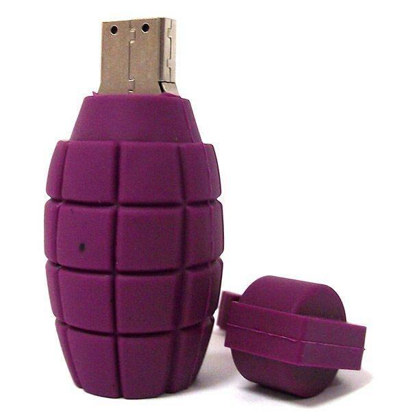 Флешка USB лимонка граната 8 Гб