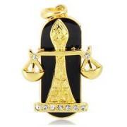 Флешка ювелирная Знак зодиака Весы 8Gb