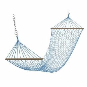 Гамак плетеный синий