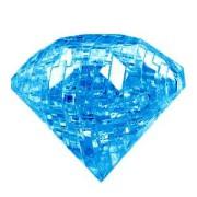 """Головоломка 3D пазл Брилиант синий  """"Сrystal puzzle"""""""