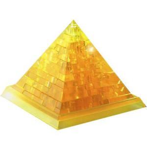 "Головоломка 3D пазл Пирамида желтая  ""Сrystal puzzle"""
