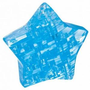"""Головоломка 3D пазл Звезда синяя  """"Сrystal puzzle"""""""