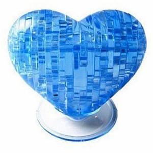 """Головоломка 3D Сердце синее """"Сrystal puzzle"""""""