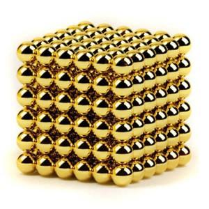 Головоломка NeoCube - мини 6мм 216 сфер (Нео куб) золото
