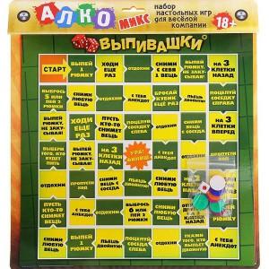 """Игра 3 в 1 """"Алкомикс"""""""