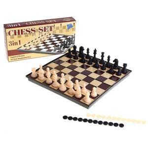 Игра 3в1 (шашки