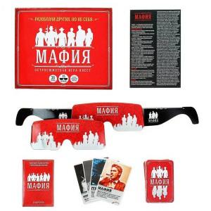 """Игра карточная """"Мафия. Чикаго"""" (с очками)"""