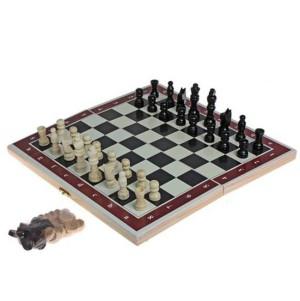 Игра настольная 3 в 1: нарды