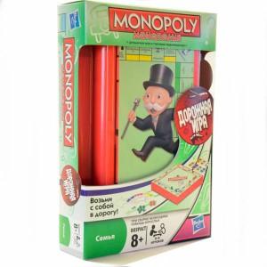 Игра настольная Монополия дорожная