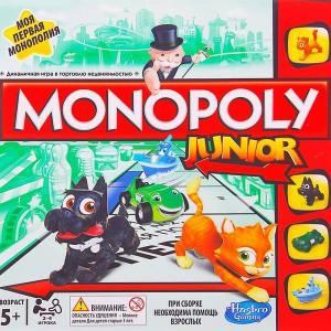 Игра настольная Моя первая монополия
