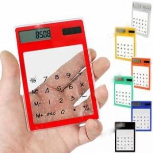 Калькулятор прозрачный сенсорный