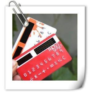 Калькулятор в бумажник