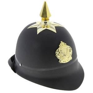 Каска полиция черная