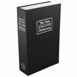 Книга сейф Английский словарь Гигант Черная
