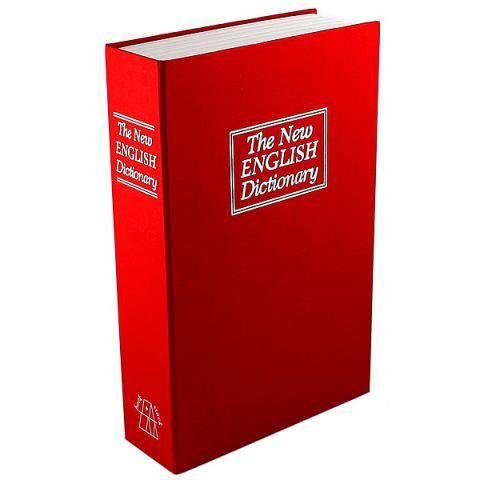 Книга сейф Английский словарь Красная гигант