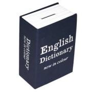 Книга сейф английский словарь мини синяя