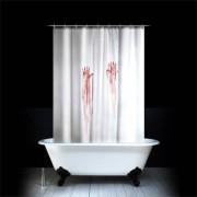 Кровавая шторка для ванной