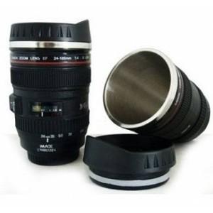 Кружка-самомешалка Объектив Canon KDM-12 поилка