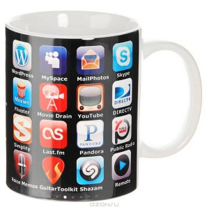 Кружка iphone