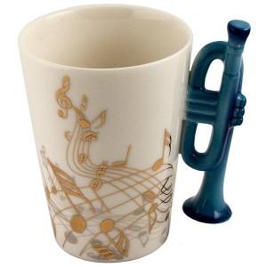 Кружка музыкальные инструменты 4