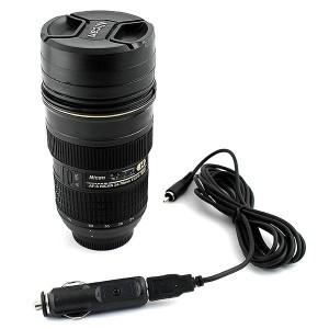 Кружка объектив Nikon в автоприкуриватель 12V