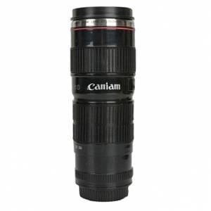 Кружка объектив термо Canon черная KD-M07