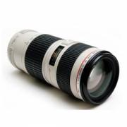 Кружка объектив термо Canon линза белая KD-M06
