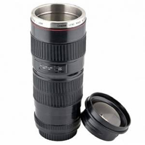 Кружка объектив термо Canon линза KD-M06
