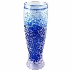 Ледяной бокал синий