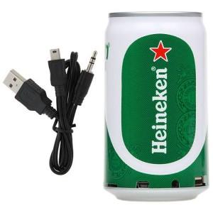 """Музыкальная колонка в виде банки пива """"Heineken"""""""