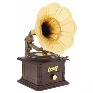 Музыкальная шкатулка Gramophone Граммофон