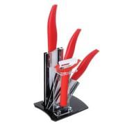 Набор керамических ножей Вишня. 8