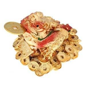 Нацкэ золото жаба с рогом на монетах и слитках с надписью