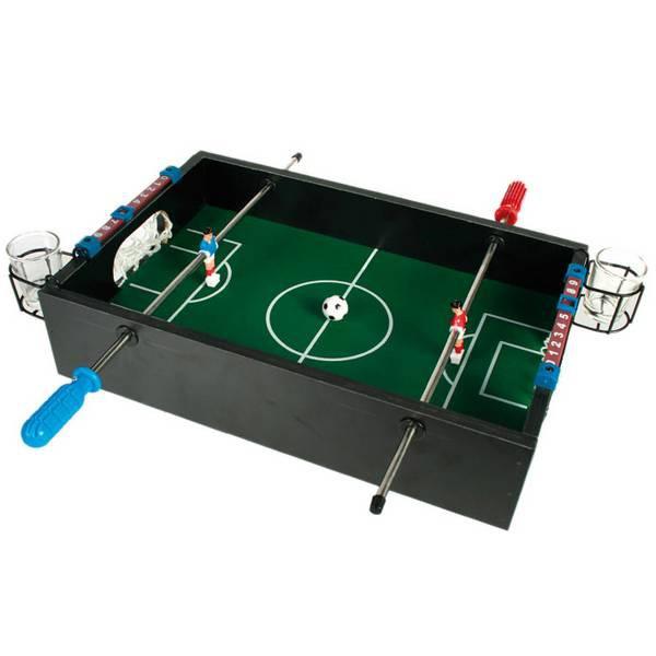 Настольный футбол с рюмками
